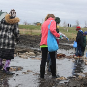5th Graders explore World Garden Commons