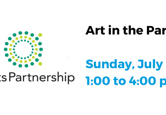 Jul 23 Art in the Park – Listen to, create and eat art in the park. Hosted by The Arts Partnership