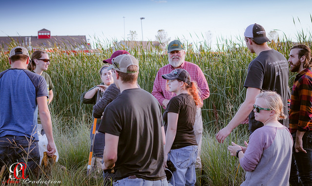 NDSU spent an evening placing rocks in the water near the confluence of the two inlets, under the advice of Natural Resources Management Professor, Jack Norland, PhD